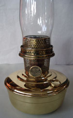 Brass Flame Spreader for Models 7-12 A,B,C 21,23. Aladdin Oil Lamps