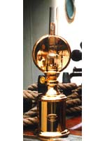 E.S. Sorensen Oil Lamps & Brass Lamps  Galley Lamp - ES500600 The distinguishing feature of the Galley Lamp is its intensive light emission owing to the use of a concave reflector.